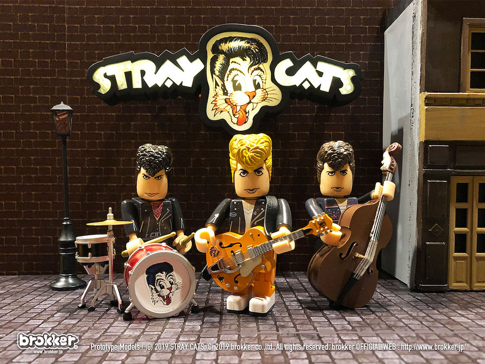 Breaking News!】brokker announces STRAY CATS figure! | brokker